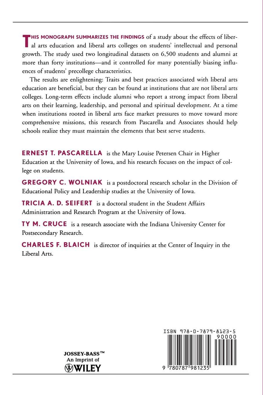 цены на Ernest T. Pascarella, Gregory C. Wolniak, Ty M. Cruce Liberal Arts Colleges and Liberal Arts Education. New Evidence on Impacts, Number 3  в интернет-магазинах