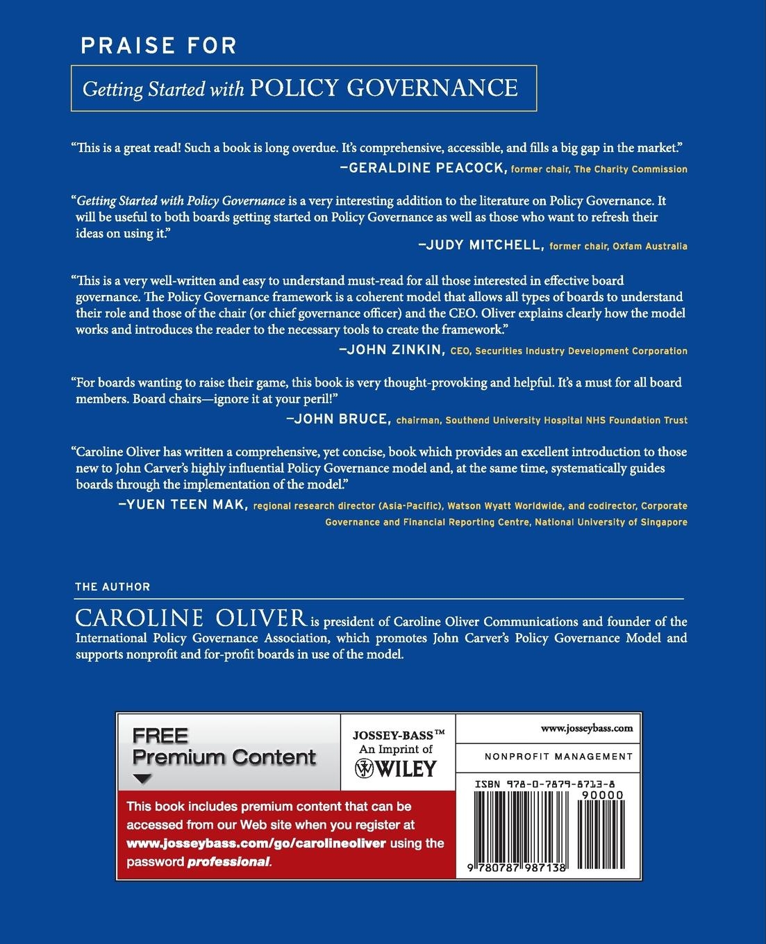 """Getting Started With Policy Governance Книга""""Getting Started With Policy Governance""""...."""
