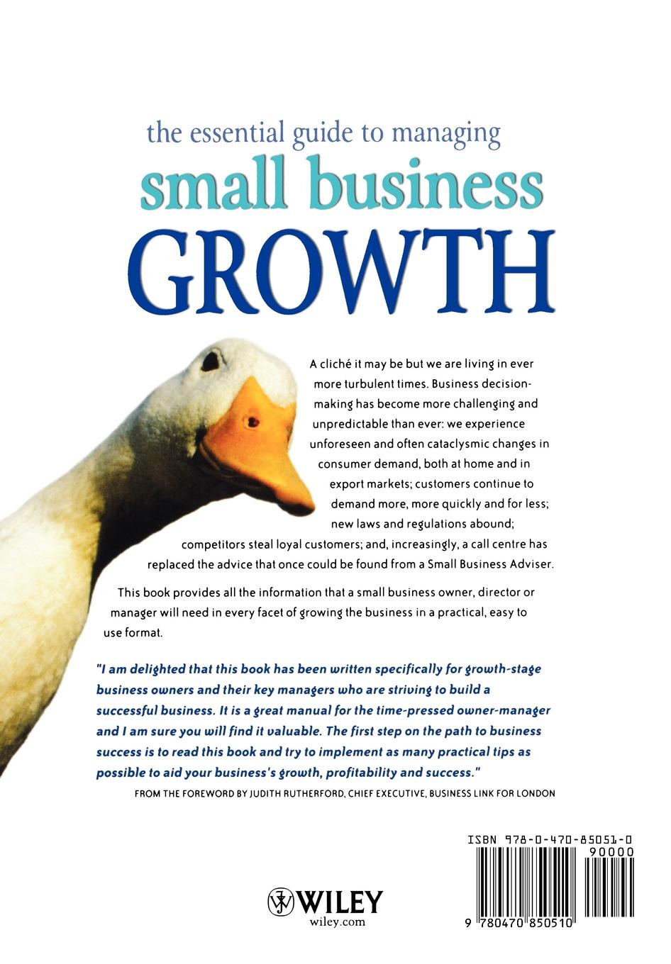 Peter Wilson, Sue Bates, Geoff Wilson The Essential Guide to Managing Small Business Growth geoff daniels essential guide to blood groups