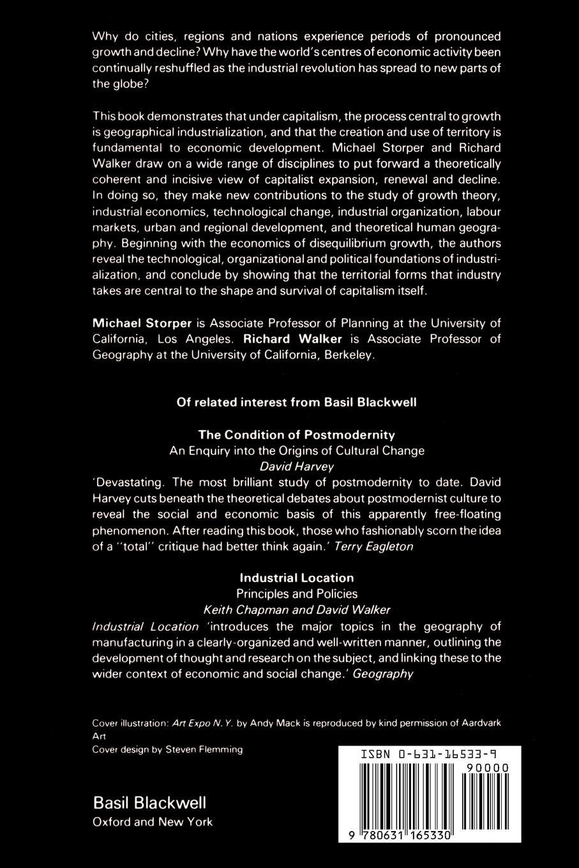 Richard Walker, Michael Storper The Capitalist Imperative. Territory, Technology and Industrial Growth недорго, оригинальная цена