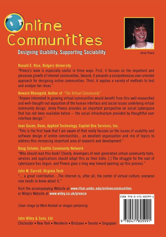Preece Online Communities building non profit communities online