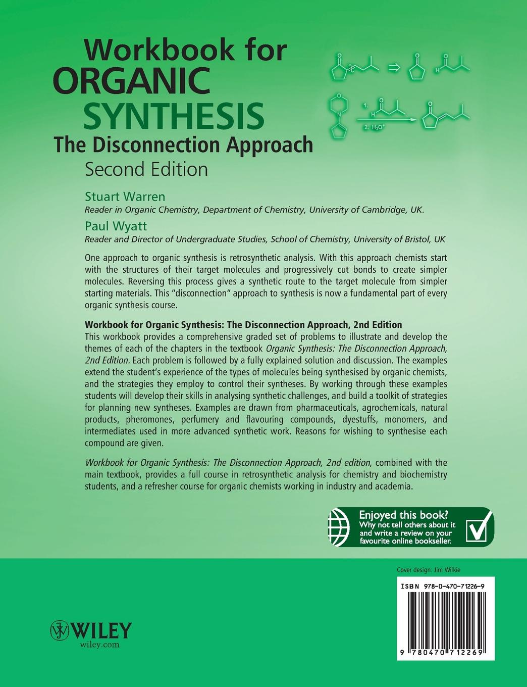 Warren Workbook for Organic Synthesis 2e