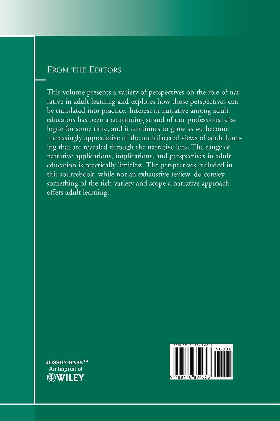 Adult and Continuing Education (Ace), Ace Narrative Perspectives on Education. New Directions for Education, Number 126