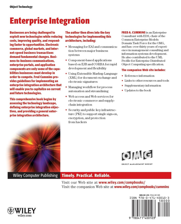 Cummins Enterprise Integration w/WS (OMG) spatial data integration