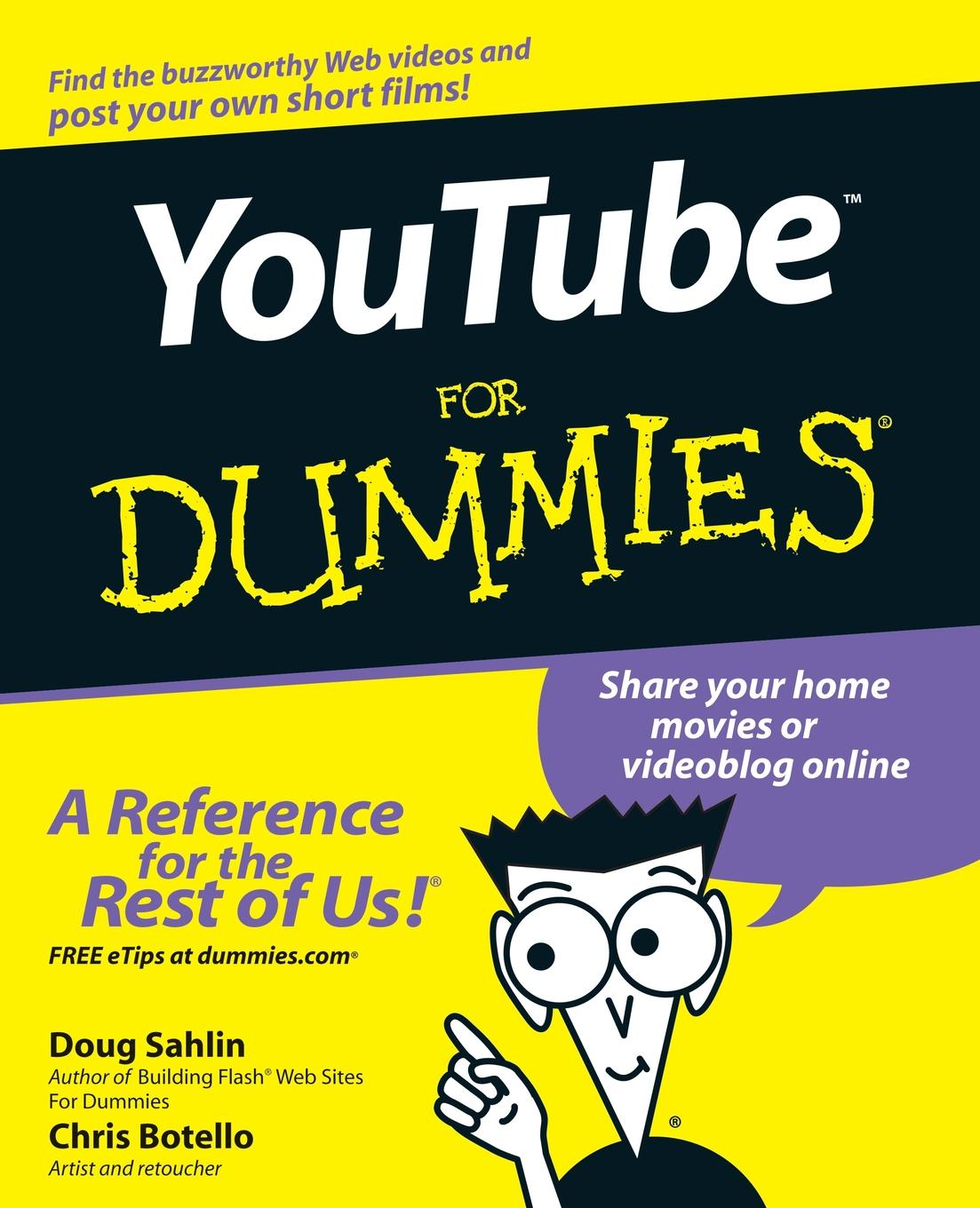 Sahlin, Botello YouTube For Dummies