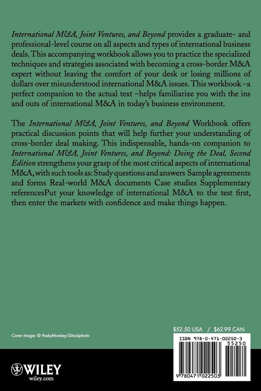 David J. BenDaniel, Arthur H. Rosenbloom, James J. Jr. Hanks International M&A, Joint Ventures and Beyond Doing the Deal Workbook ventures level 2 workbook