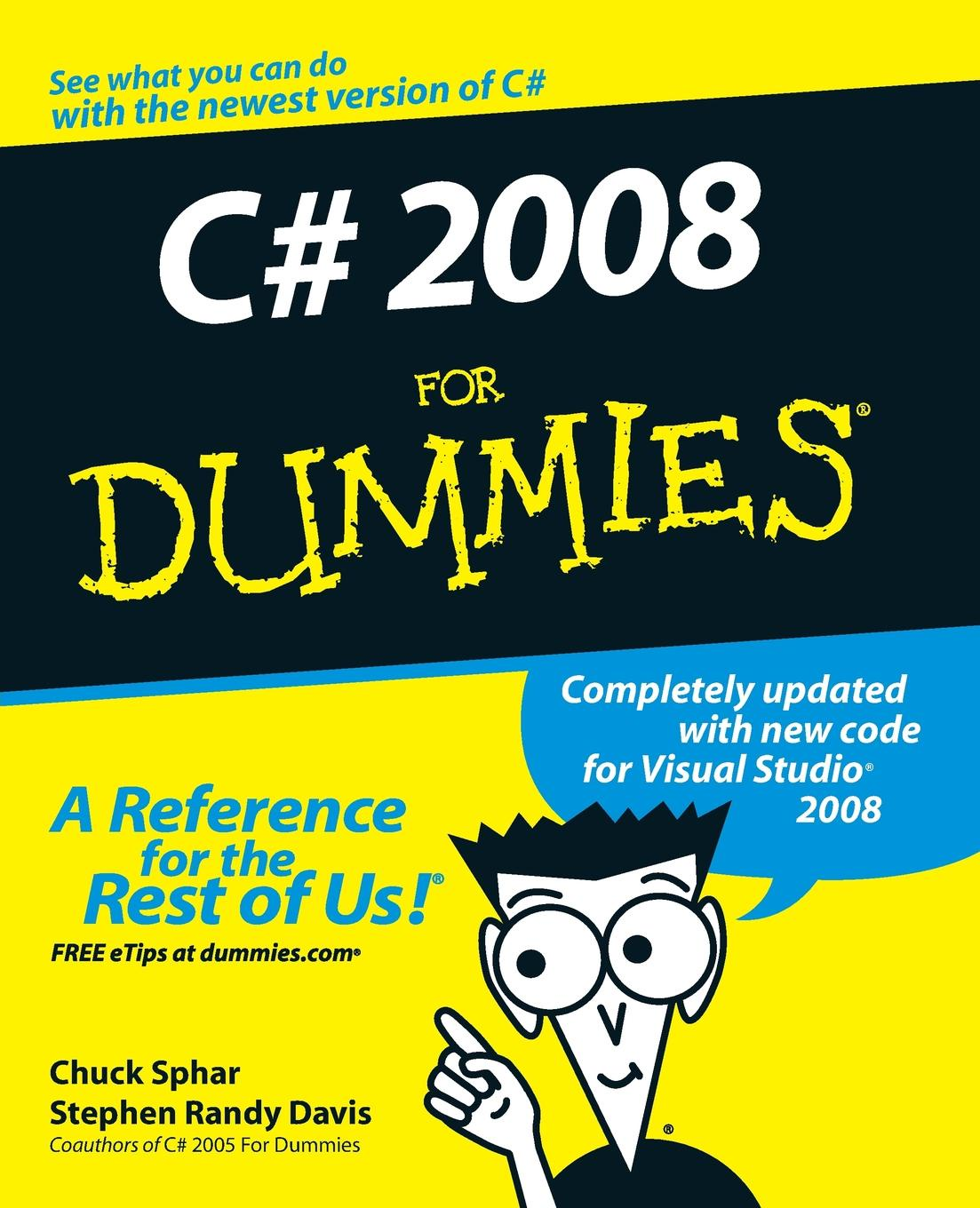 лучшая цена Sphar, Davis C# 2008 For Dummies
