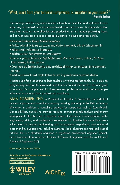 Rossiter Professional Excellence developmental climate and professional excellence
