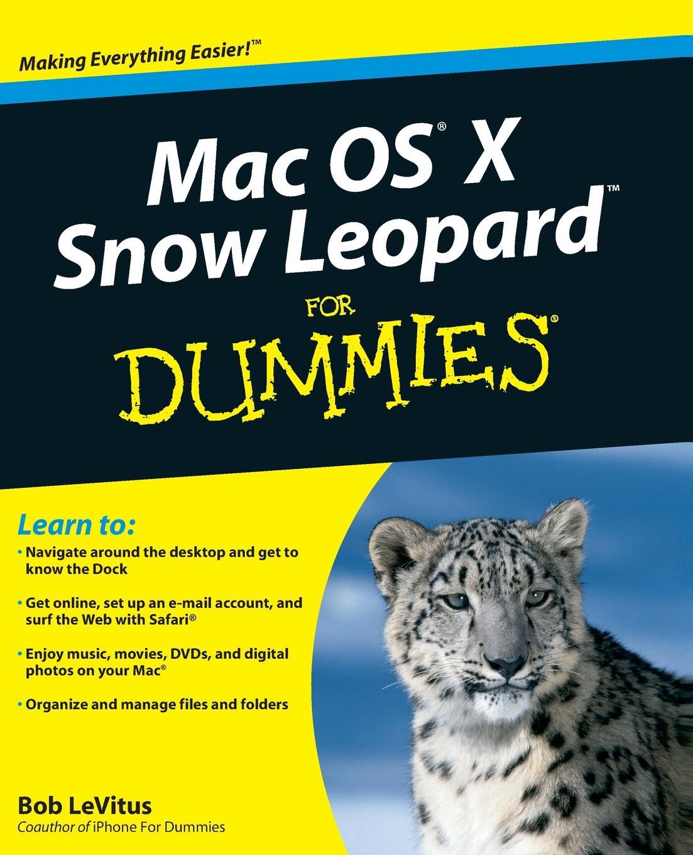 LeVitus Mac OS X Snow Leopard FD bob levitus ipad for dummies