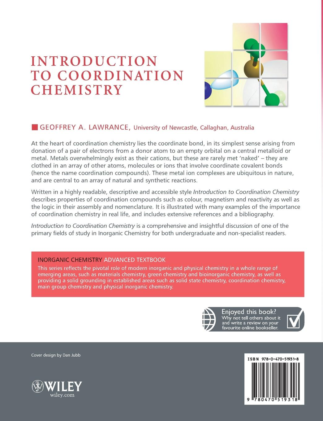Lawrance Introduction to Coordination Chemistry
