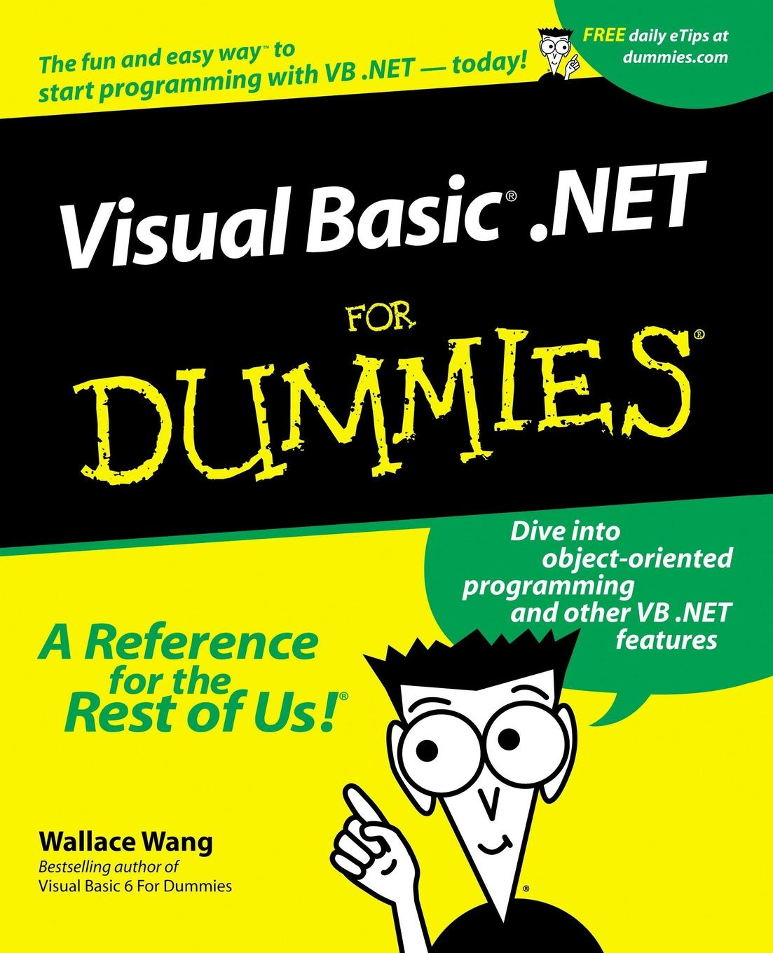 лучшая цена Wang Visual Basic .NET For Dummies