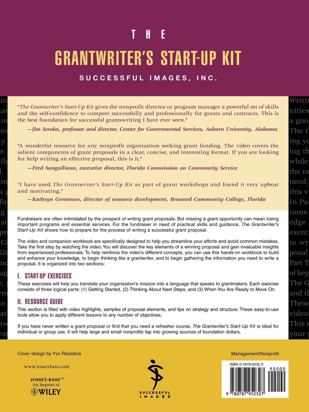Successful Images Images Inc, Imag Successful Imag, Inc. Successful Images The Grantwriter's Start-Up Kit. A Beginner's Guide to Grant Proposals Set joyce a philen the abc s to successful teaching
