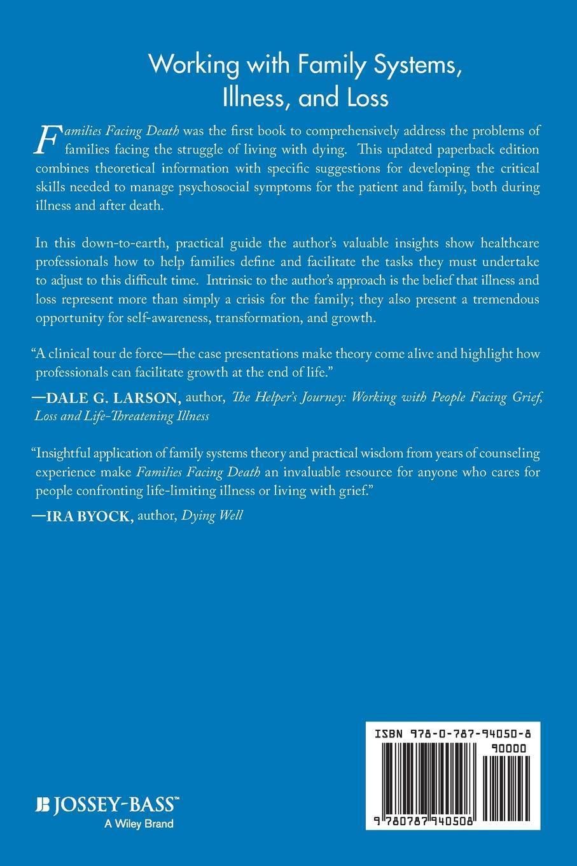 Elliott J. Rosen, Rosen Families Facing Death. A Guide for Healthcare Professionals and Volunteers