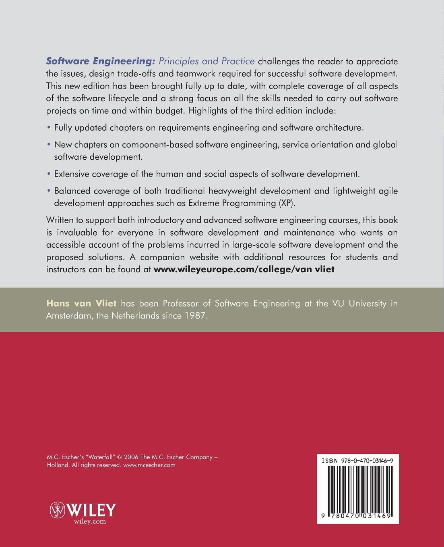 Hans van Vliet Software Engineering. Principles and Practice walter pohl l economic geology principles and practice