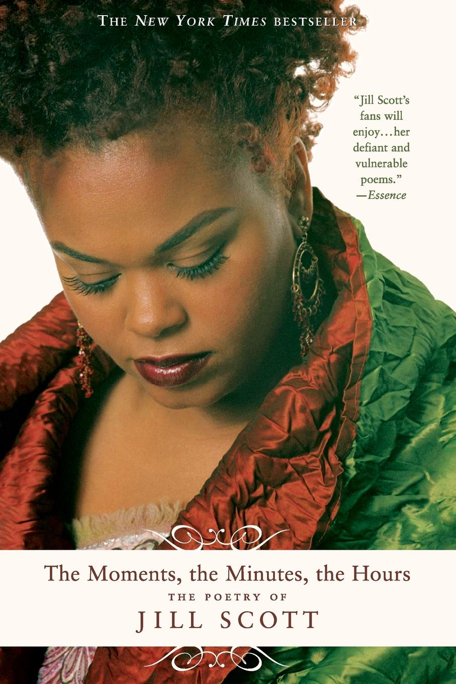 Jill Scott The Moments, the Minutes, the Hours. The Poetry of Jill Scott drawstring flower print nine minutes of jogger pants