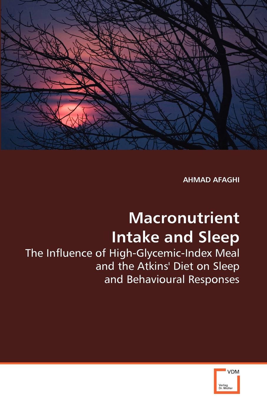 Ahmad Afaghi Macronutrient Intake and Sleep ручка dnd intake