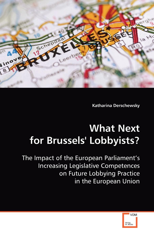 Katharina Derschewsky What Next for Brussels' Lobbyists? brussels type