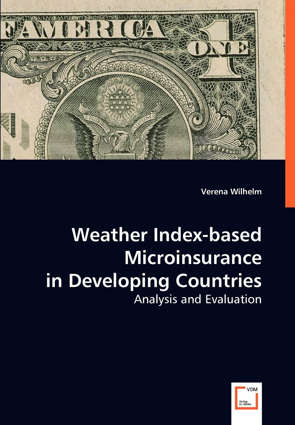 Verena Wilhelm Weather Index-based Micro Insurance in Developing Countries verena johnen schulsport in tansania