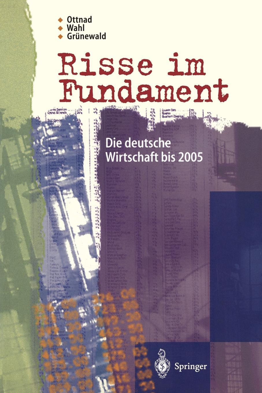 Adrian Ottnad, Stefanie Wahl, Reinhard Graunewald Risse Im Fundament. Die Deutsche Wirtschaft Bis 2005 reinhard bicher dawson s creek die wurzeln