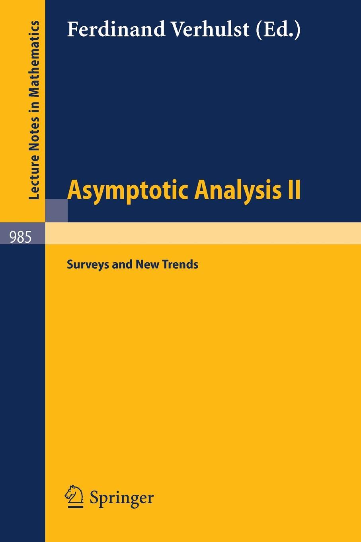 лучшая цена Asymptotic Analysis II. Surveys and New Trends