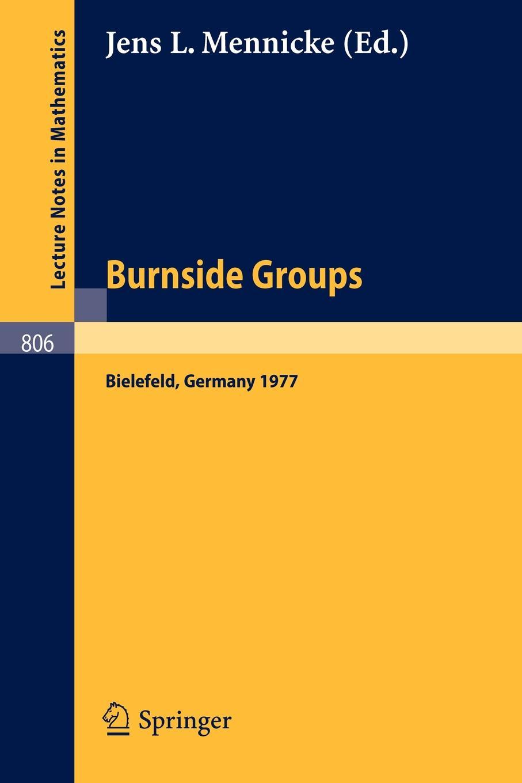 Burnside Groups. Proceedings of a Workshop Held at the University of Bielefeld, Germany, June-July 1977 proceedings of the v legislative xml workshop