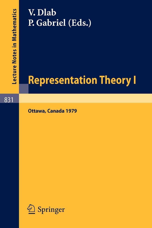 Representation Theory I. Proceedings of the Workshop on the Present Trends in Representation Theory, Ottawa, Carleton University, August 13-18, proceedings of the v legislative xml workshop