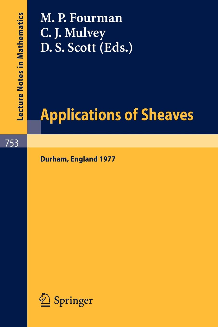 Applications of Sheaves. Proceedings of the Research Symposium on Applications of Sheaf Theory to Logic, Algebra and Analysis, Durham, July 9-21, 1977 applications of supercritical angle fluorescence