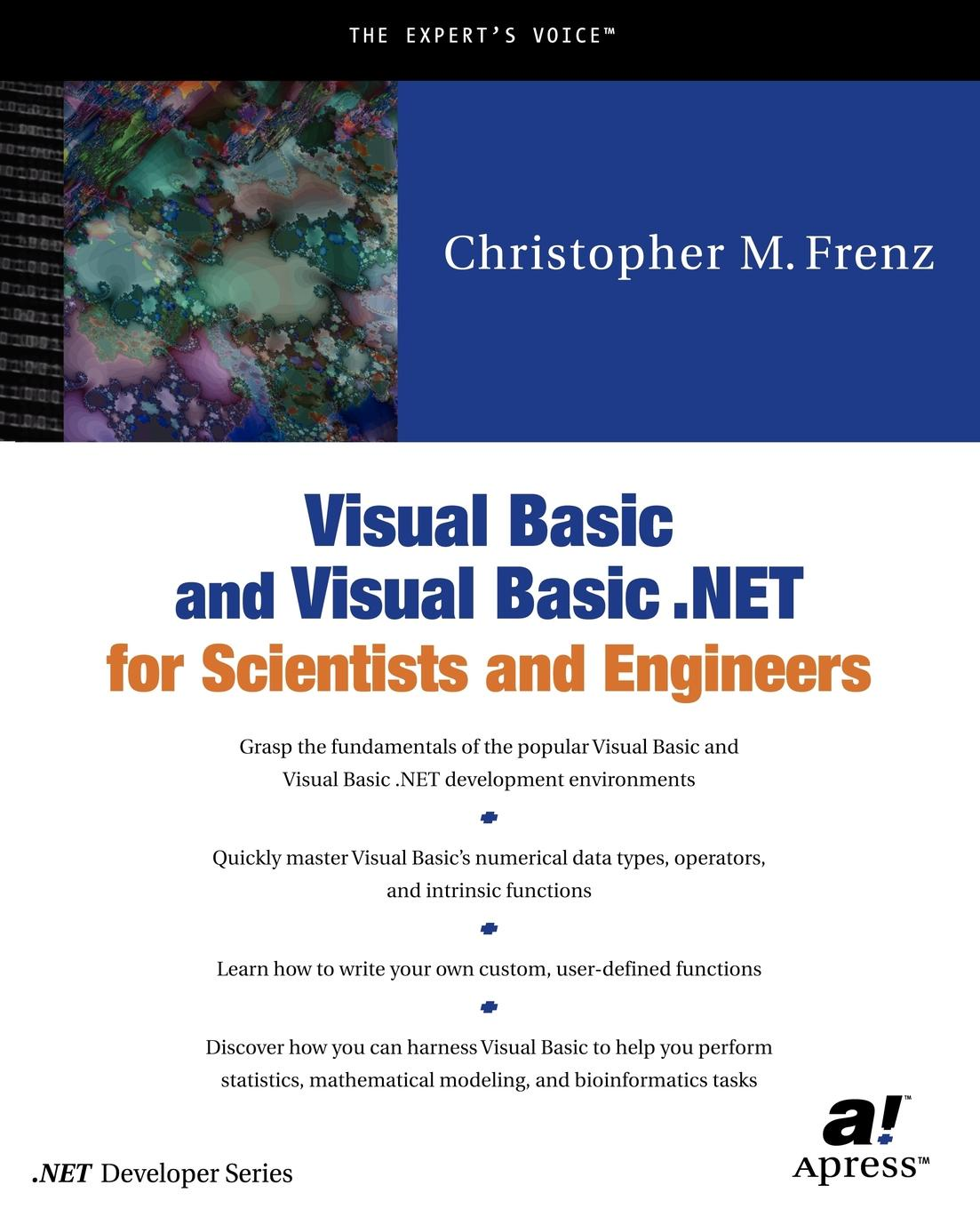 лучшая цена Christopher Frenz Visual Basic for Scientists