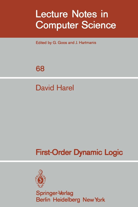 D. Harel First-Order Dynamic Logic w v quine elementary logic first edition