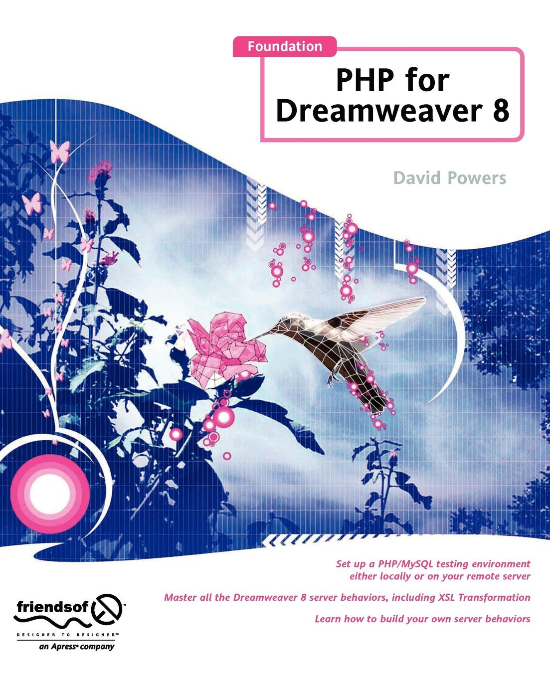 David Powers Foundation PHP for Dreamweaver 8 up php