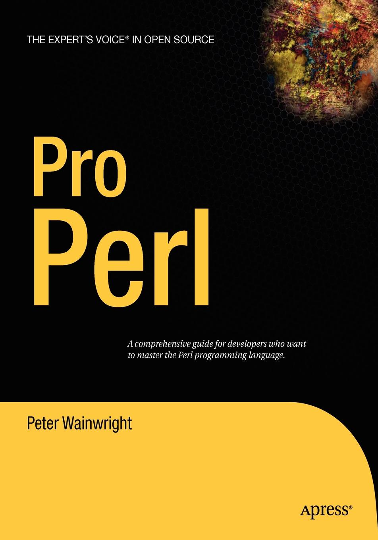 Peter Wainwright Pro Perl цены онлайн