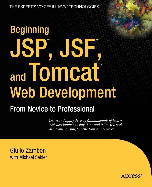 Giulio Zambon Beginning JSP, Jsf, and Tomcat Web Development. From Novice to Professional w jason gilmore robert h treat beginning php and postgresql 8 from novice to professional