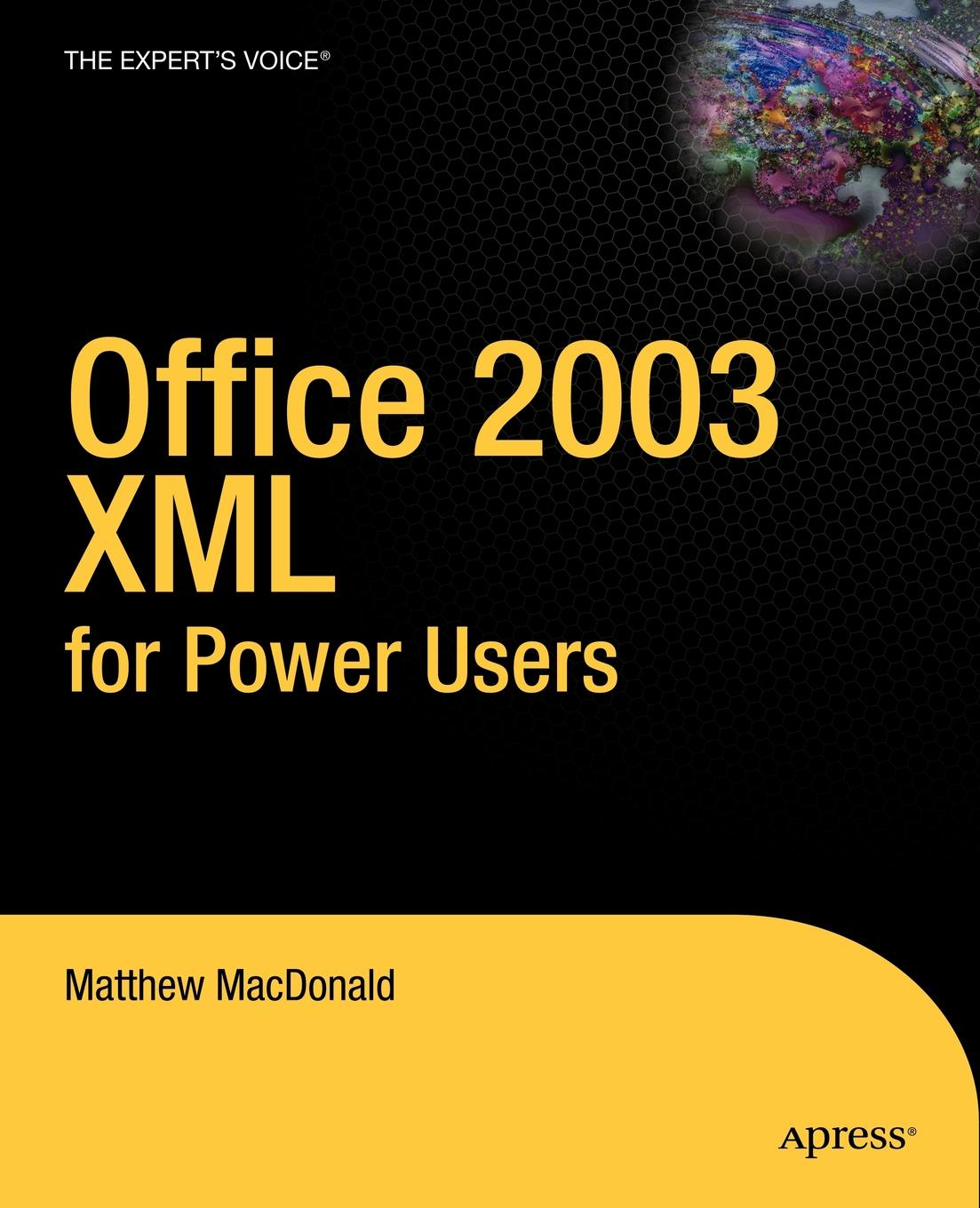 Matthew MacDonald Office 2003 XML for Power Users sitemap 146 xml