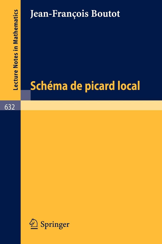 J.-F. Boutot Schema de Picard Local picard сумка picard 8604 37y 001 schwarz