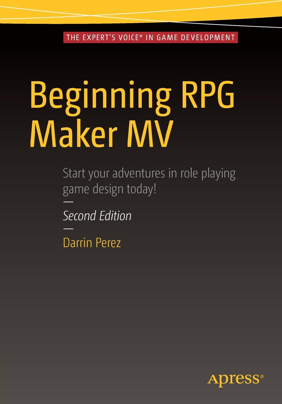 Darrin Perez Beginning RPG Maker MV цена и фото