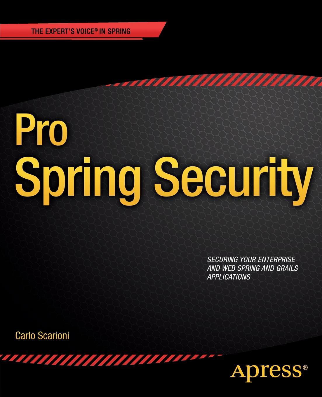 Carlo Scarioni Pro Spring Security