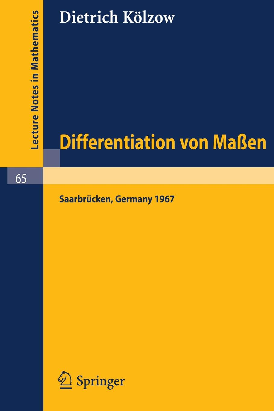 купить Dietrich Kalzow, Dietrich K. Lzow, Dietrich Kolzow Differentiation Von Massen по цене 3964 рублей
