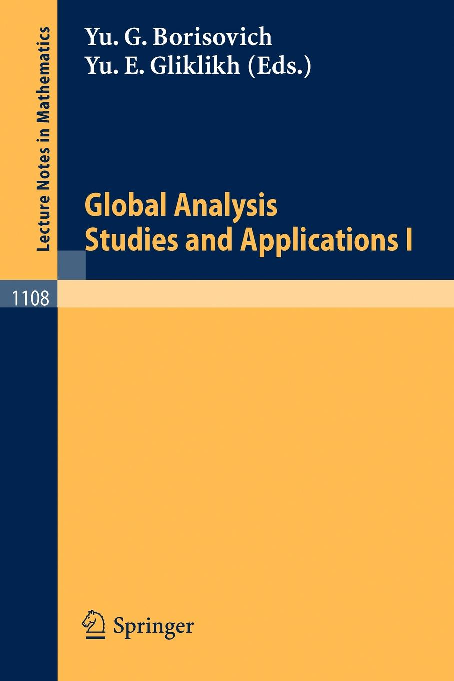 все цены на Global Analysis. Studies and Applications I онлайн