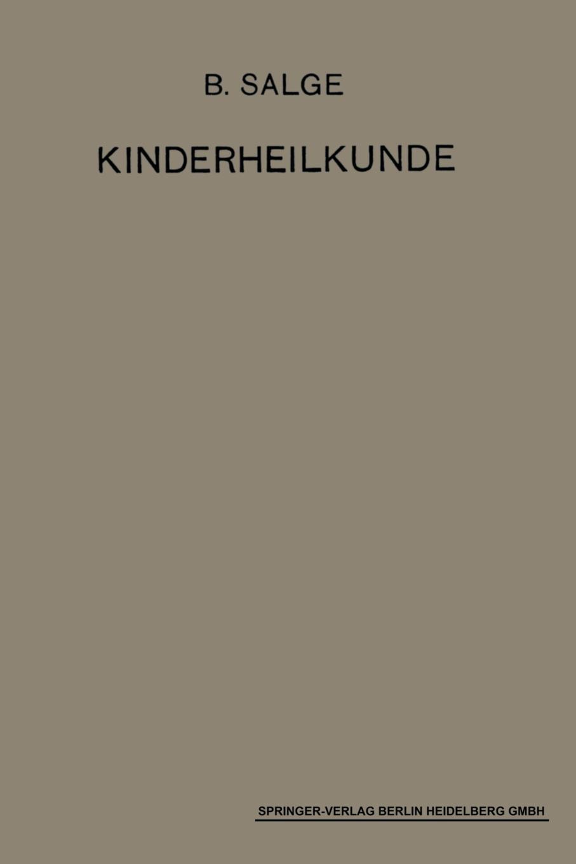 Einfuhrung in Die Kinderheilkunde. Ein Lehrbuch Fur Studierende Und Arzte