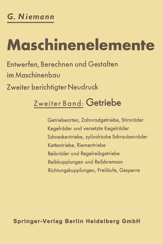 Gustav Niemann Maschinenelemente. Entwerfen, Berechnen und Gestalten im Maschinenbau. Ein Lehr- und Arbeitsbuch lehr und arbeitsbuch lektionen 1 6 mit audio cd zum arbeitsbuch