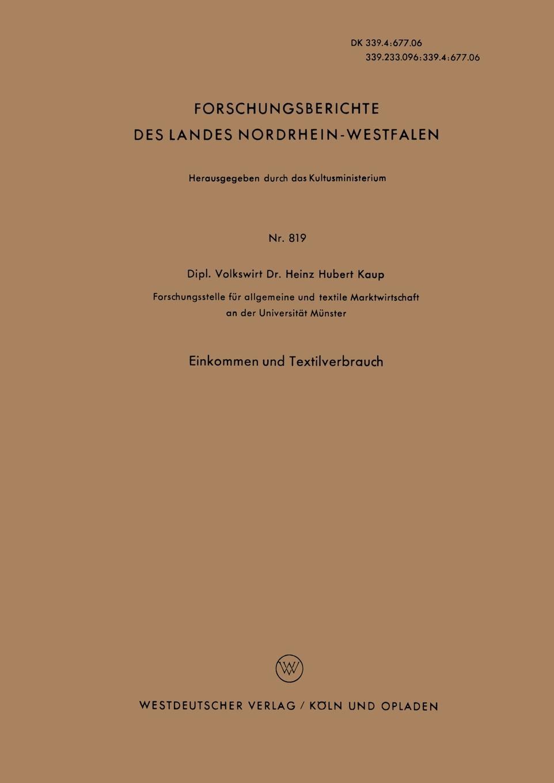 Heinz Hubert Kaup, Heinz Hubert Kaup Einkommen Und Textilverbrauch giacomo casanova the memoirs of jacques casanova de seingalt 1725 1798 volume 20 milan