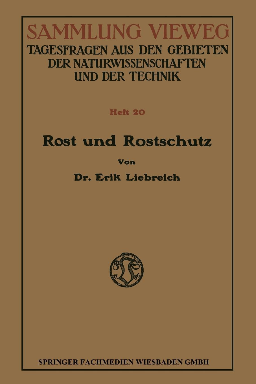 Erik Liebreich-Landolt Rost Und Rostschutz bitkoin zastrial nije 6400 kogda novyi rost
