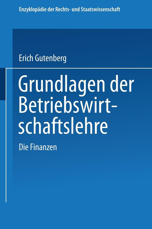 Erich Gutenberg Grundlagen Der Betriebswirtschaftslehre erich hackl grundlagen der padagogischen psychologie in der berufsbildung