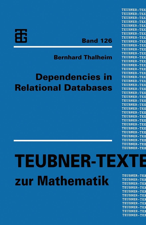 Dependencies in Relational Databases