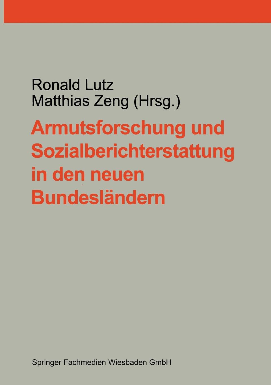 Armutsforschung Und Sozialberichterstattung in Den Neuen Bundeslandern sozialer und demographischer wandel in den neuen bundeslandern