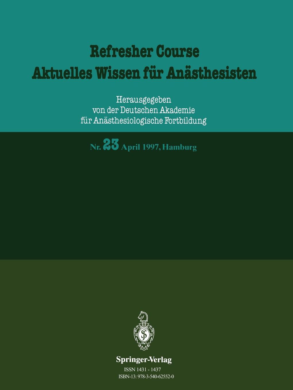 J. Springer Refresher Course / Aktuelles Wissen fur Anasthesisten refresher course in botany