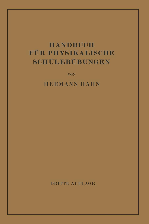 Hermann Hahn Handbuch Fur Physikalische Schulerubungen werner hahn deutsche literaturgeschichte in tabellen handbuch fur den schulgebrauch
