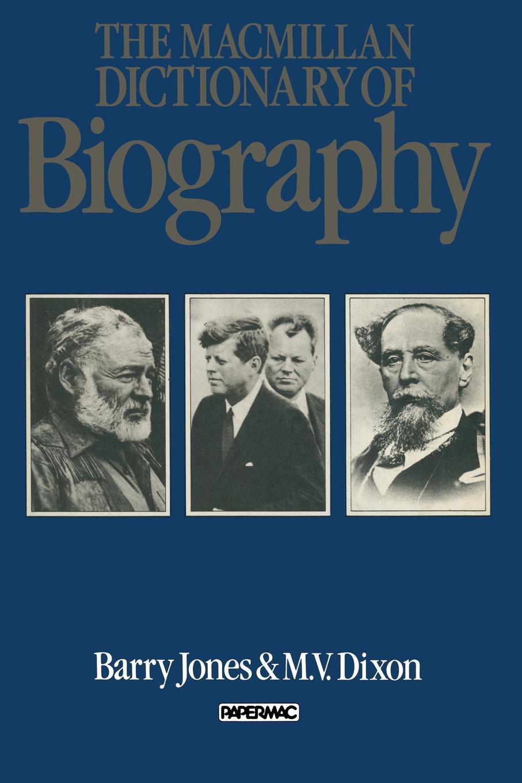 The Macmillan Dictionary of Biography