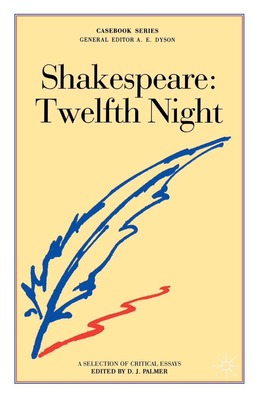 Shakespeare. Twelfth Night shakespeare w twelfth night