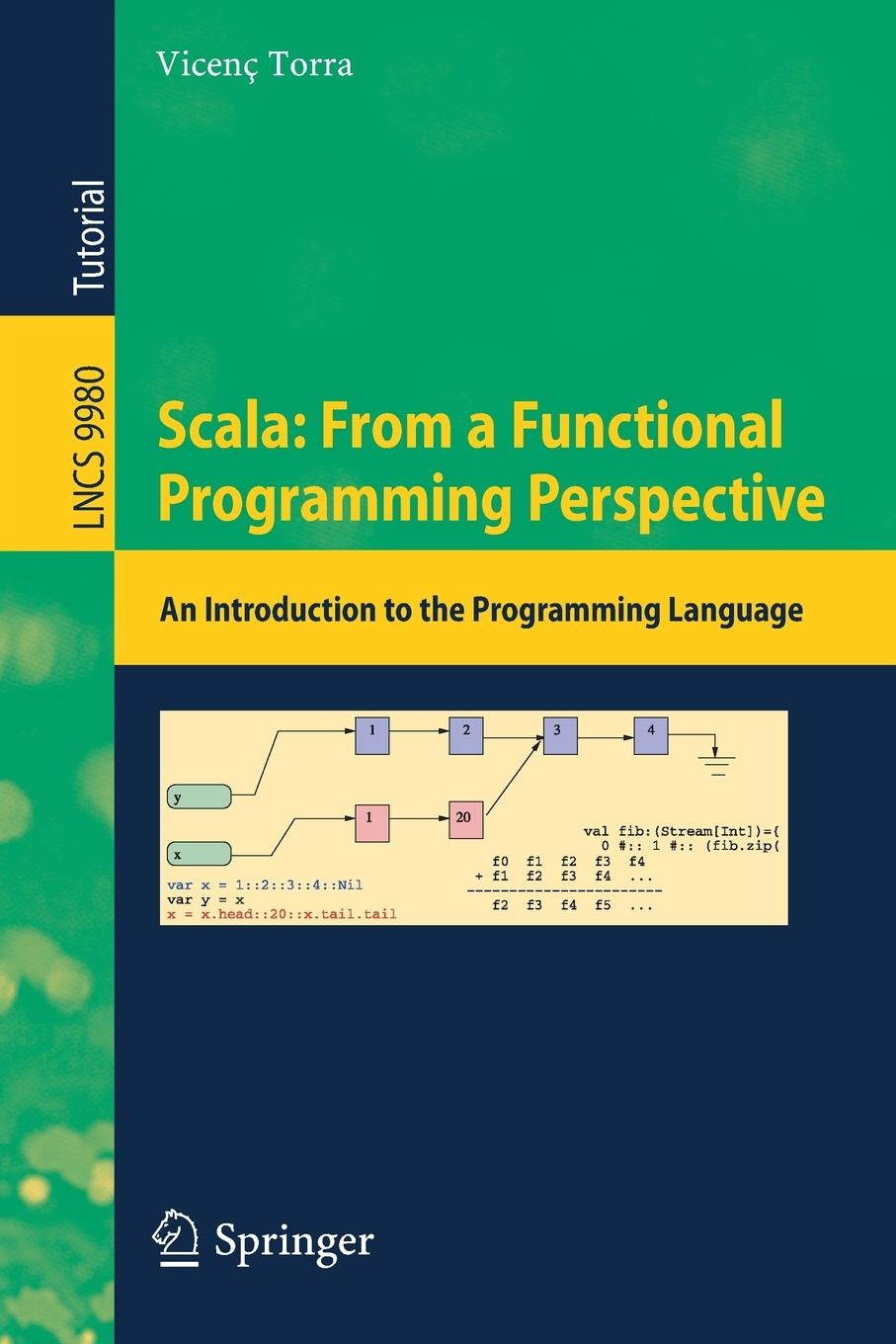 Vicenç Torra Scala. From a Functional Programming Perspective : An Introduction to the Language